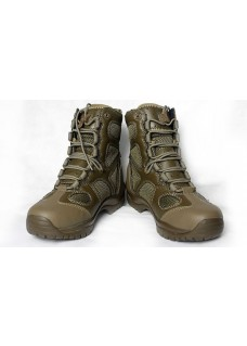 530 Dunk high Style Tactical Boots Black without zip