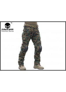 Tactical Combat Pants 2 Generation With Knee Pads Digita Woodland Camo