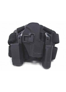 CQC H&K USP Compact  Drop Leg Holster With Panel & Mag & Light Case