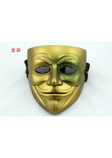 Hot Selling V style mask For Vendetta Full Face Mesh Mask Cosplay Mask