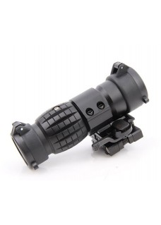 Tactical 3X Magnifier Type Sight Scope With Flip-up Mount