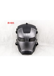 2015 High Quality Wire Mesh Iron Man For Tactical Airsoft Paintball Full Face Mask