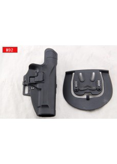 Blackhawk Military Waist Pistol Holster For M92 Right Hand  (Long Style)