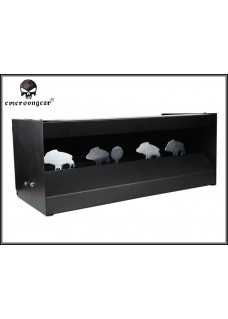 Magnetic Steel Shooting Target System For Military Police Airsoft Paintball Metal Target