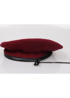 Military beret hats Army beret Red beret Cotton beret with best quality