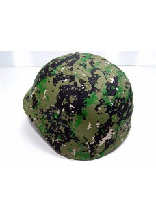 Wolf Slaves US Army M88 PASGT Tactical Helmet Cover-Digital Woodland Camo