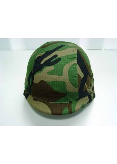 Wolf Slaves US Army M88 PASGT Tactical Helmet Cover-Woodland Camo