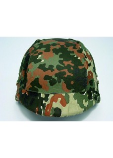 Wolf Slaves US Army M88 PASGT Tactical Helmet Cover-German Flecktarn Camo