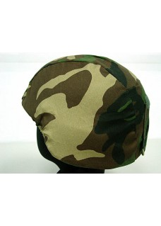 MICH 2000 ACH Tactical Helmet Cover Type B-Woodland Camo