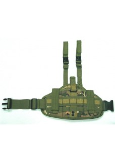 Wolf Slaves Molle Platform Panel Drop Leg Pistol Holster