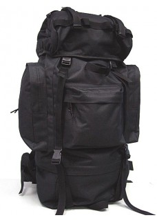 Wolf Slaves 65L Combat Rucksack Camping Backpack