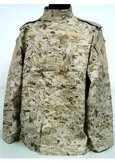 Tactical Military Special Force Combat Uniform Digital Desert Camo