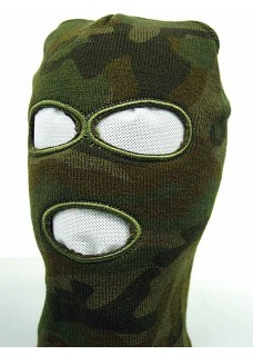 SWAT Balaclava Hood 3 Hole Head Face Knit Mask
