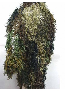 Wolf Slaves Hunting Airsoft Ghillie Suit Mossy Camo Woodland