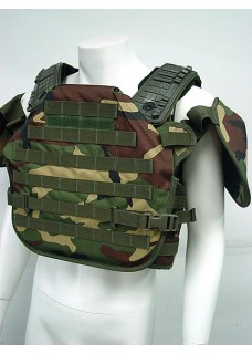 Tortoise Shell Tactical Molle Plate Carrier Recon Armor Vest