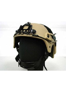 IBH Helmet with NVG Mount & Side Rail Action Version Tactical Helmet