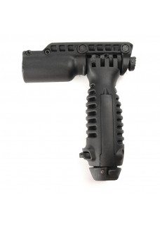 Tactical RIS Total Bipod Flashlight Holder Foregrip Grip