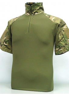 Military CS Wargame Tactical Combat T-Shirt Multi Camo