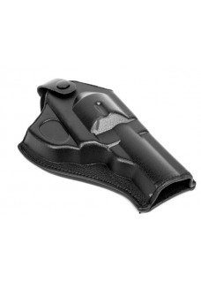 Army Force Leather Revolver Pistol Holster (Short)