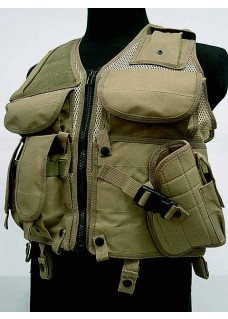 TVE Airsoft Hunting Combat Tactical Vest Type A