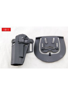 Blackhawk Military Waist Pistol Holster For 1911 Left Hand  (Short Style)