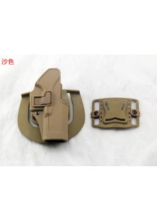 Blackhawk Waist Pistol Holster For Glock 17 Military Single Gun Holster  (Short Style)