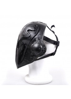 Carbon Fiber King Mask Paintball Airsoft Tactical Mask