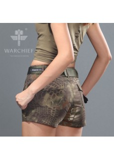 Chiefs Kryptek Camo Lady Shorts Airsoft Tactical Pants