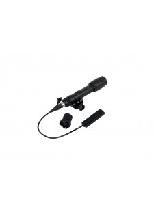 M600c Tactical led torch lamp with gun mount BK