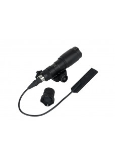 Wolf slaves M300 Mini Tactical gun flashlight with gun mount black