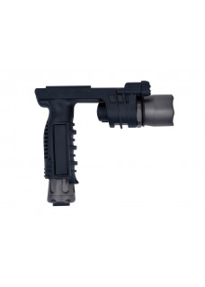 EX-020 macrophthalmia multi functional Tactical gun flashlight BK