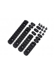 MOE Polymer 20mm Rail Tactical EX254 Side Rail 4pcs  /set