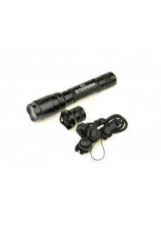 Wolf slaves tactical military use E2L Outdoorsman gun flashlight