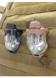 Molle Outdoor snail light protective holster quick release holster