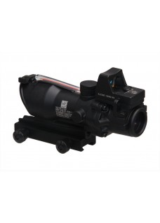 RifleScope HY9180 ACOG SCOPE GL 4X32 1 With Red Fiber Sight Bead and Dimming ACOG Type GL 4X32 1