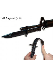 Tactical Airsoft Plastic Dummy M9 Bayonet With Sheath Model
