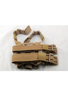 Military Gun Holster Blackhawk Drop Leg Holster For P226 Left Hand (Short Style)