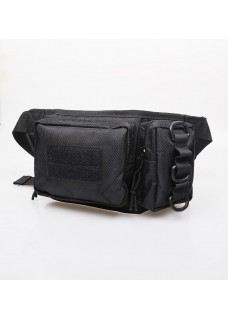 Military Tactical Nylon Double Pouch Waist Bag