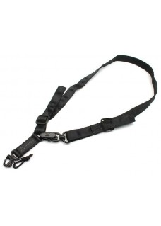 MS2 Multi-Mission Rifle Sling with Patch Black