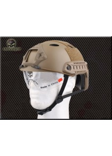 Tactical Helmet Combat Military PJ Helmet With Clear Visor