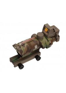 Tactical RilfeScope HY9168 ACOG SCOPE GL 4X32 With Red Fiber & Dimming ,ACOG Type GL 4X32