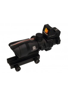 Tactical RifleScope HY9171 ACOG SCOPE GL 4X32 2# With Red Fiber & Dimming ACOG Type GL 4X32 2#