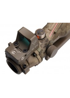 Tactical RifleScope HY9173 ACOG SCOPE GL 4X32 2# With Red Fiber & Dimming ACOG Type GL 4X32 2#