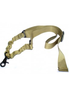 Tactical Single 1 Point Bungee Rifle Gun Airsoft Sling Adjustable