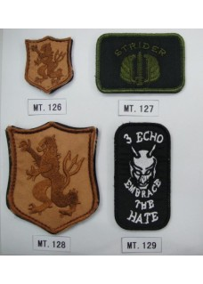 Various Tactical Flag Army Police Patches
