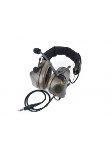 Tactical Comtac G2 military use noise cancellation earphone FG