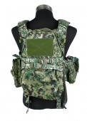 500D Nylon Airsoft 094 Tactical Military Vest  AOR2