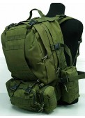 Tactical Molle Assault Combination Backpack