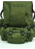 Tactical Molle Assault Combination Backpack Olive Drab