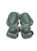 Wolf Slaves Protective Pads Sets Tactical Knee & Elbow Pads